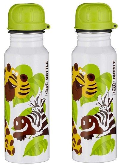 Doppelpack alfi Edelstahl Trinkflaschen 600ml für 9,99€ (statt 34€)