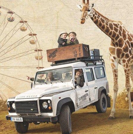 Kostenlose Kinderfreikarte (3 - 12 Jahre) für den Serengeti-Park Hodenhagen