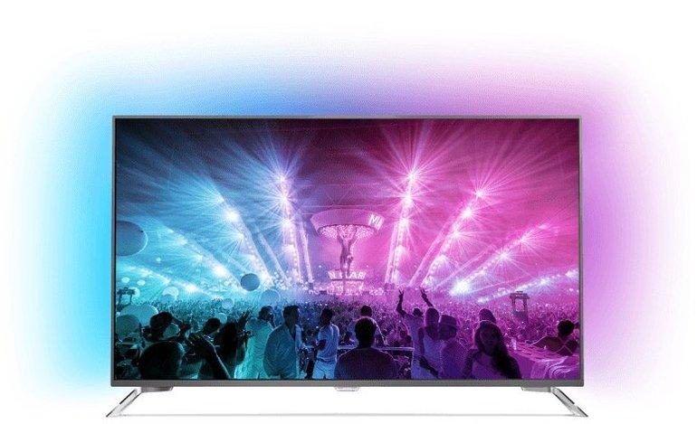 Philips 75PUS7101/12 Smart TV mit Ambilight für 1.699€ inkl. VSK (statt 2.249€)