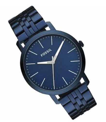Fossil Edelstahl Herrenuhr Luther Chronograph in Blau (BQ2324) für 47€inkl. Versand (statt 75€)