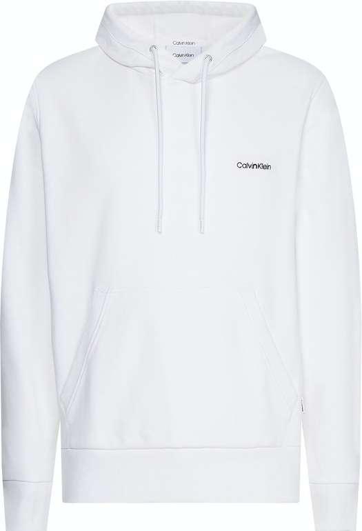 Calvin Klein Herren Pullover in weiß o. schwarz mit kleinem Logo für 71,99€ inkl. Versand (statt 100€)
