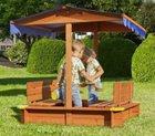 """Sandkasten """"Luisa"""" aus Echtholz mit Dach für 33,85€ inkl. Versand"""