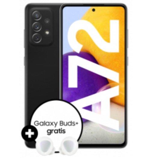 Samsung Galaxy A72 mit 128GB (153,99€) + Galaxy Buds+ und Otelo Allnet-Flat Go mit 5GB LTE für 14,99€ mtl.