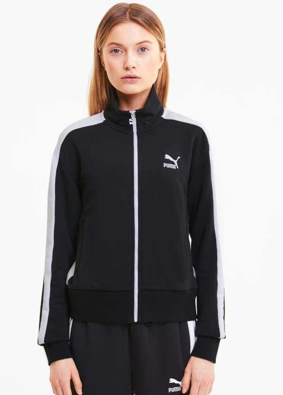 Puma PuIconic Iconic T7 Damen Trainingsjacke in Schwarz für 31,96€ inkl. Versand (statt 43€)