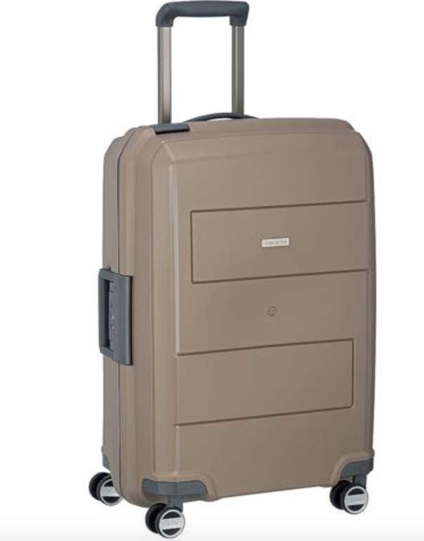 Travelite Makro 4-Rollen-Trolley (Maße: 44 x 66 x 27cm / Gewicht: ca. 3,9 kg / Volumen: 72 L) für 39,90€