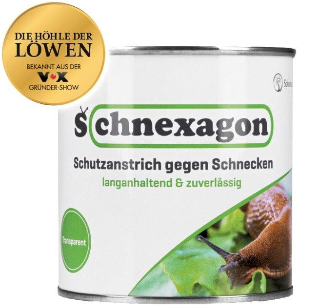 Schnexagon – ökologischer Schneckenzaun und Schutzanstrich für 19,99€