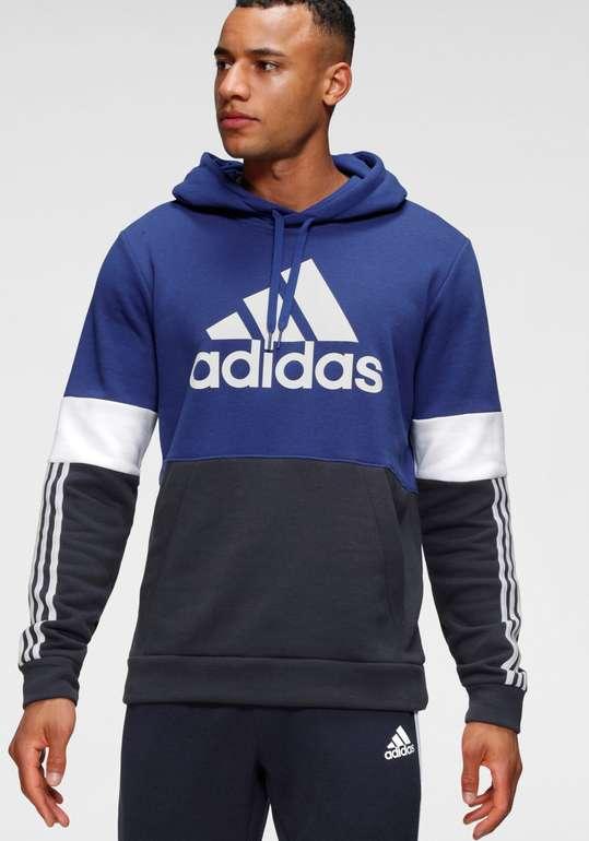 Adidas Essentials Fleece Colorblock Herren Hoodie für 37,94€ inkl. Versand (statt 49€)