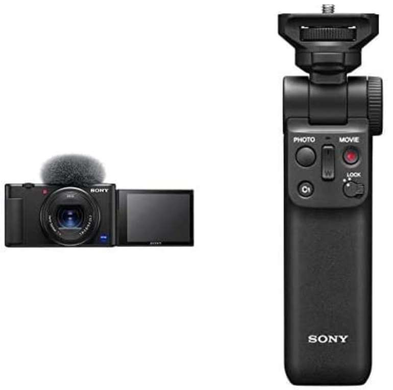Sony Vlog-Kamera ZV-1 mit Sony GP-VPT2BT Bluetooth Handgriff für 557,36€ inkl. Versand (statt 709€)