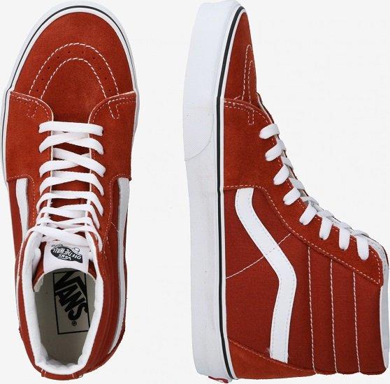"Vans ""SK8-HI"" Herren Sneaker in Rostbraun / Weiß für 31,96€ (statt 62€)"