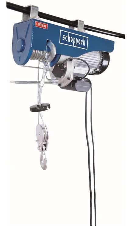 Scheppach HRS1000 Elektrischer Seilzug mit 810 Watt für 249,99€ inkl. Versand (statt 299€)