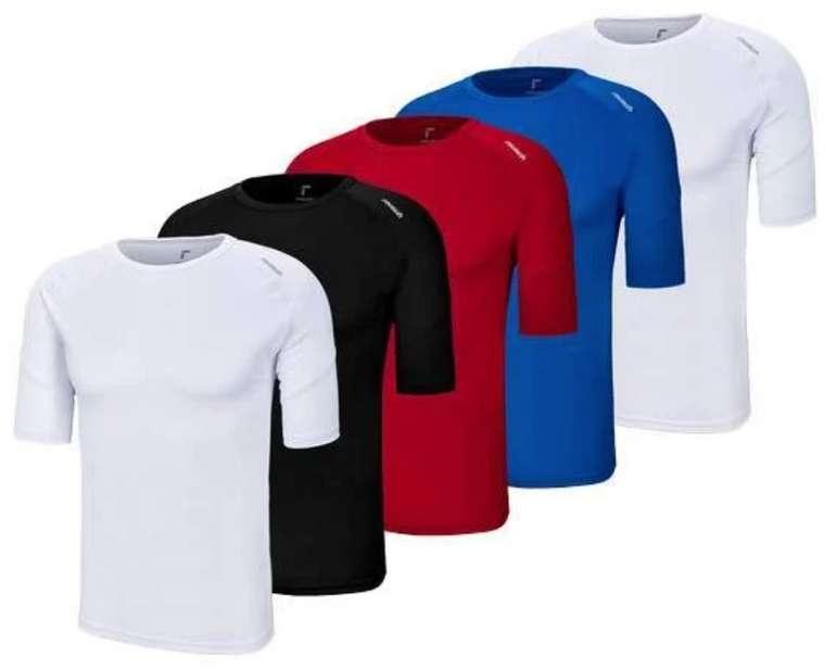 5er Pack Reusch Basic Funktionsshirts für 28,99€ inkl. Versand (statt 75€)