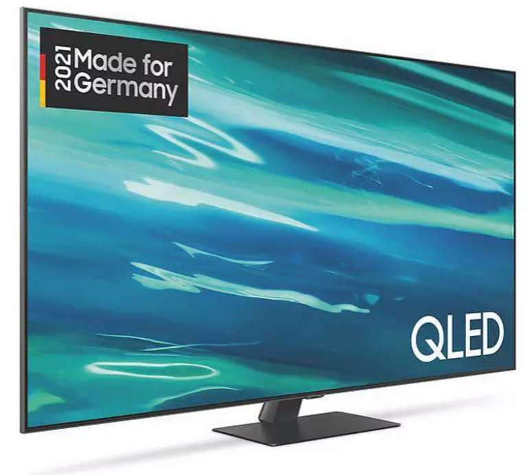 Samsung GQ65Q80A QLED TV mit 65 Zoll (UHD 4K, SMART TV, Tizen) für 1399€ inkl. Versand (statt 1.564€)