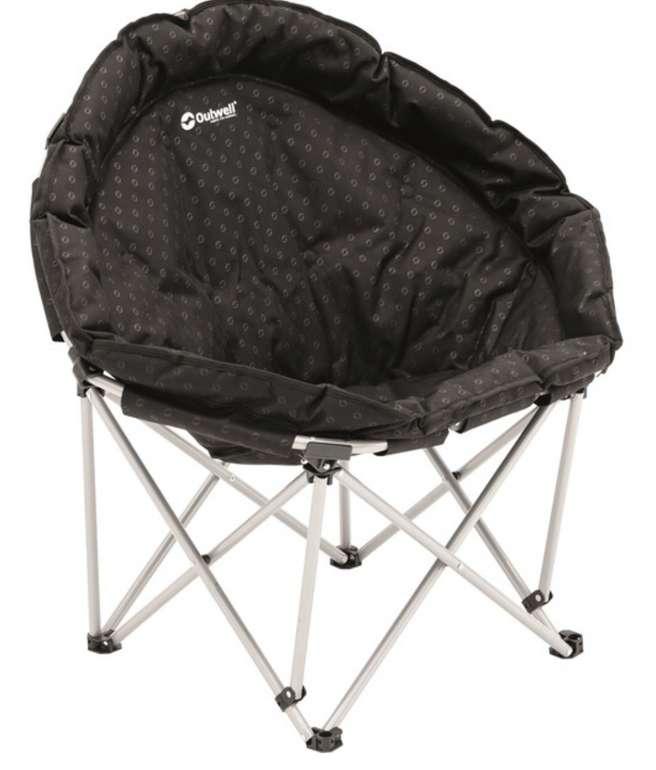 Outwell Casilda Camping Stuhl in Schwarz für 34,94€ inkl. Versand (statt 48€)