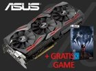 ASUS Radeon STRIX-RX480-8G-GAMING + Gratis Game Prey für 199,99€