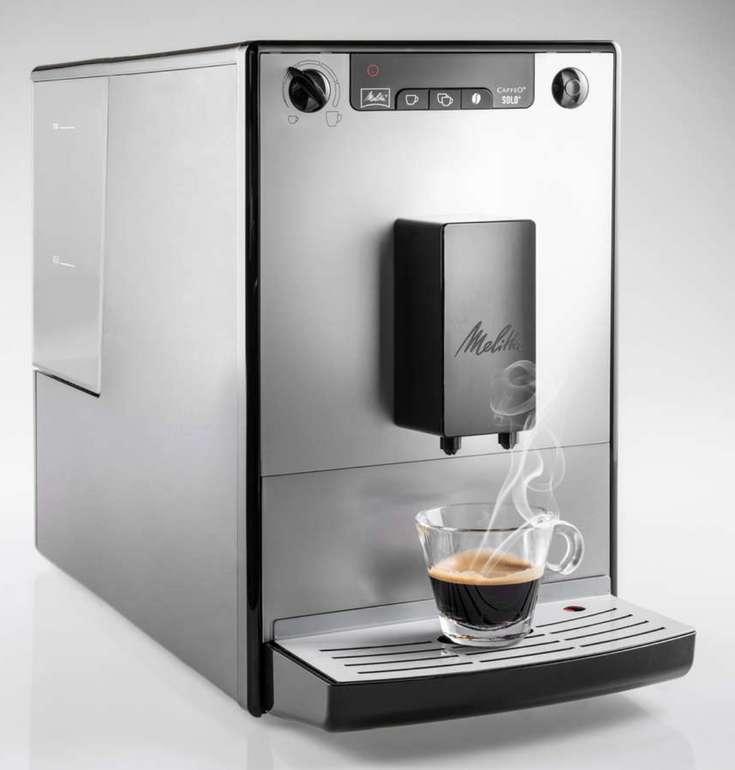 "Melitta Kaffee-Vollautomat ""Solo Pure Silber"" + 2x Bella Crema Kaffee für 179,75€ inkl. Versand (statt 239€)"