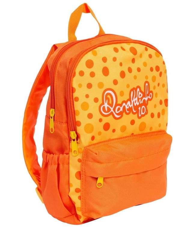Ronaldinho Kinder Rucksack in orange für 6,54€ (statt 10€)