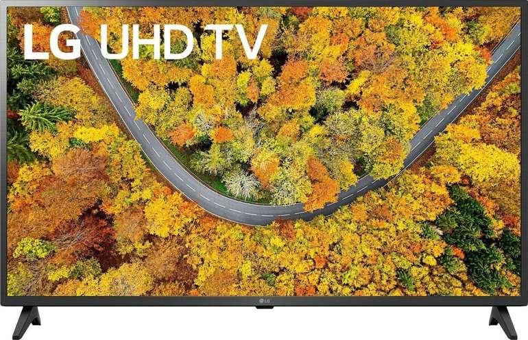 Wiedereröffnung bei Saturn mit -15% auf LG TV-Geräte, z.B. 43UP75009LF für 274,75€