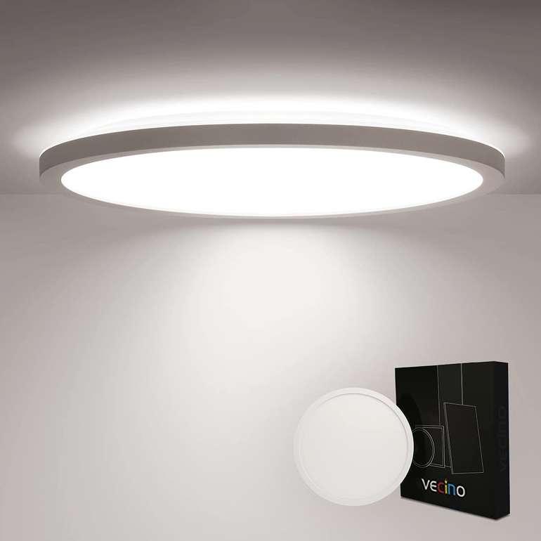 Vecino 18W LED Deckenleuchte (30cm, IP44, 4000K) für 14,99€ inkl. Prime Versand (statt 25€)