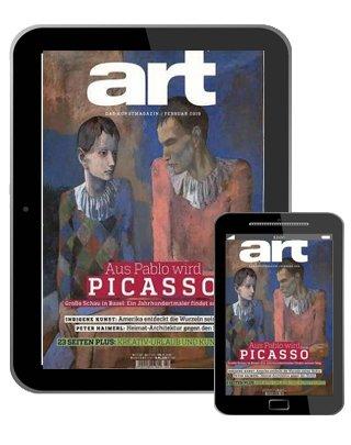 """12 Ausgaben """"art Digital""""- E-Paper im Jahresabo für 73€ + 75€ BestChoice-Gutschein"""
