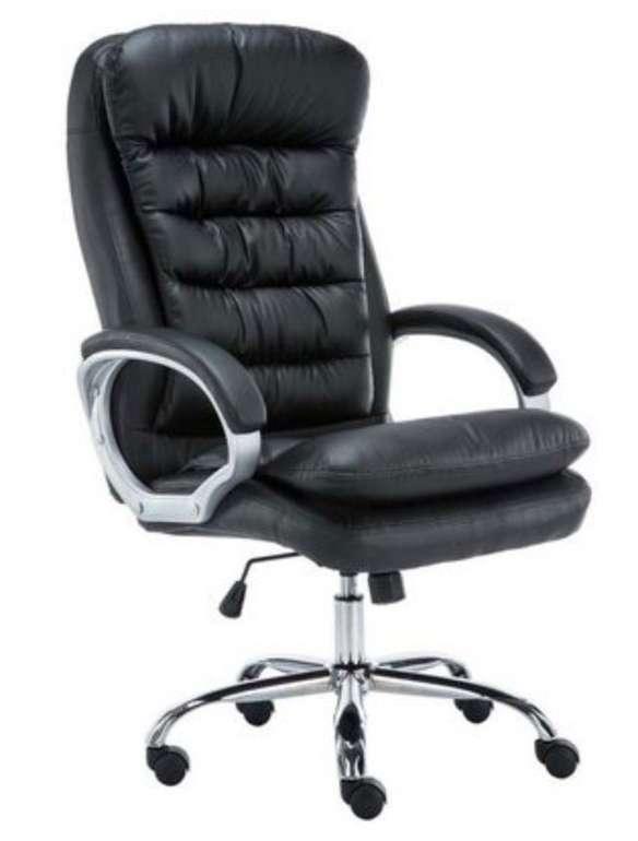 CLP Schreibtischstuhl Vancouver (Kunstleder, Belastbarkeit bis zu 235 kg) für 104,85€ inkl. Versand