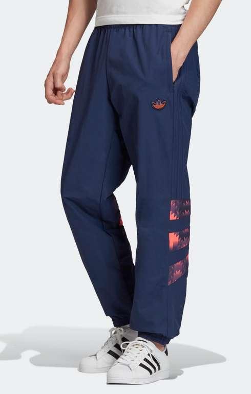 """Adidas Originals Sporthose """"Retro"""" in dunkelblau / koralle für 20,21€ inkl. Versand (statt 49€)"""
