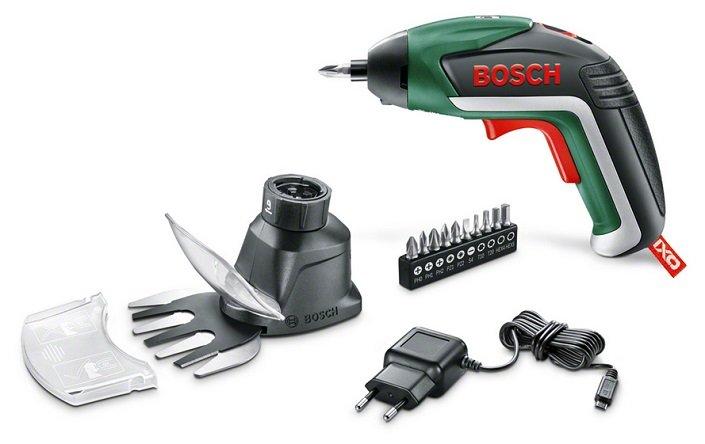 Bosch IXO V Akkuschrauber inkl. Gras- und Strauchscherenaufsatz für 24,99€ - Paydirekt!