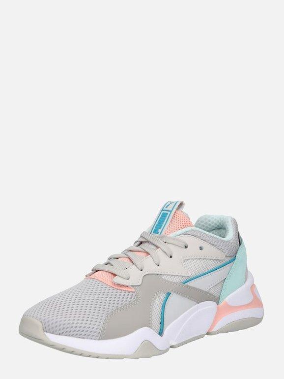Puma Damen Sneaker 'Nova' in grau / mischfarben für 35,96€ (statt 90€)