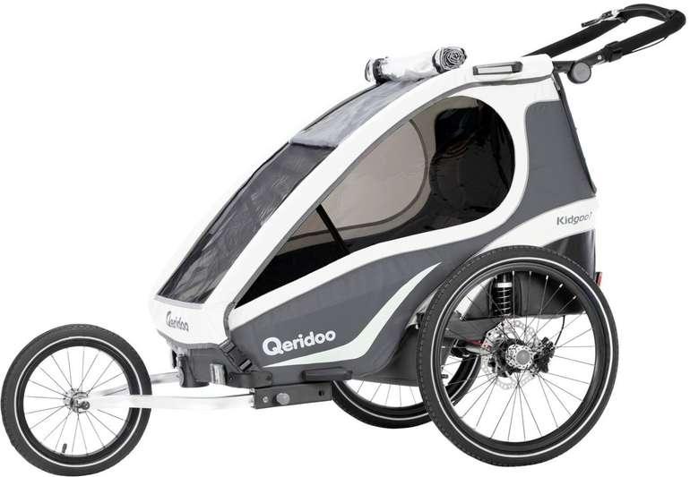 Qeridoo KidGoo 1 Sport (2019) Fahrradanhänger für 359,99€ inkl. Versand (statt 459€)