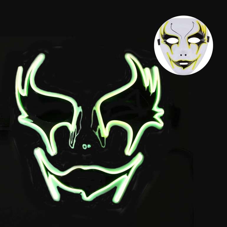 Legendog LED Halloween Maske für 3,75€ mit Prime