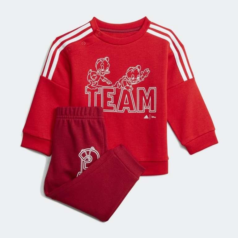Adidas x Disney Huey Dewey Louie Kinder Jogginganzug in 3 Farben für je 28€ (statt 40€)