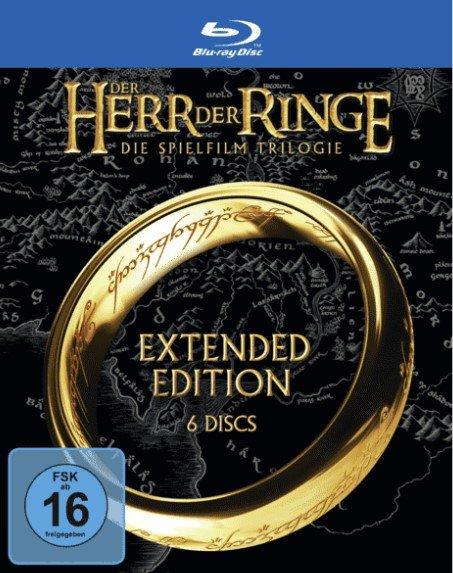 Der Herr der Ringe: Extended Editions Trilogie (Blu-ray) + Kinogutschein für 29,99€ inkl. VSK (statt 37€)