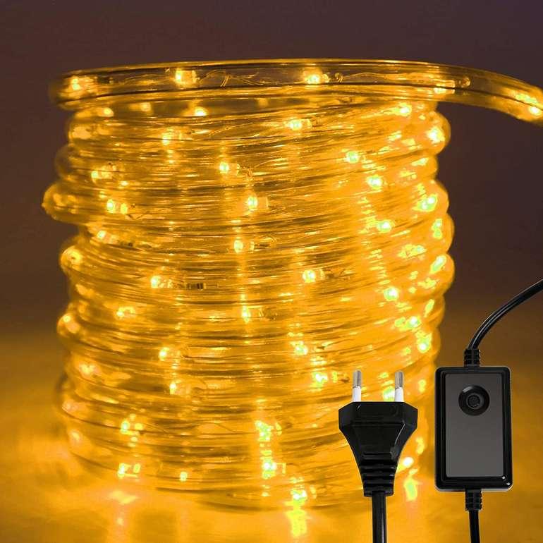 Hengda wasserdichte Lichterschläuche reduziert, z.B. 30m mit 720 LEDs für 29,39€