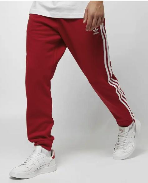 adidas Superstar Herren Track Trainingshose in rot für 35,99€inkl. Versand (statt 60€)