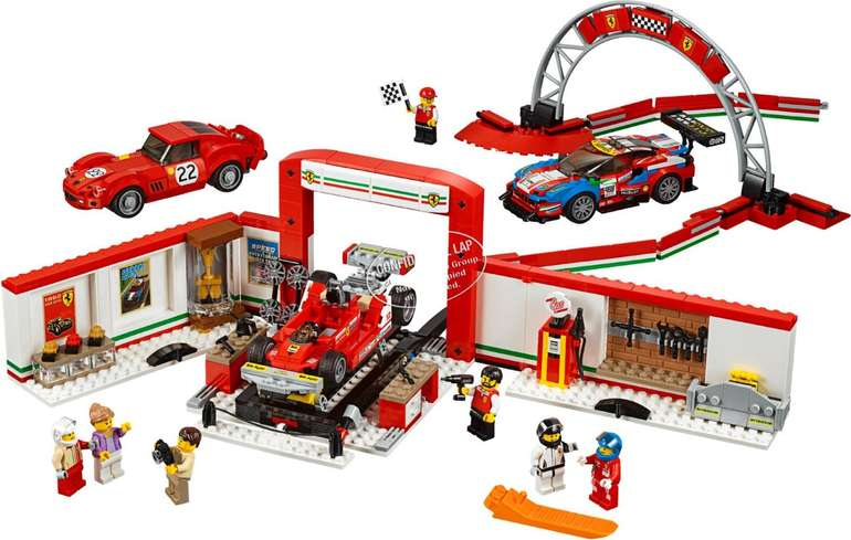 LEGO  (75889) Speed Champions - Ferrari Ultimate Garage für 59,99€ (statt 75€)