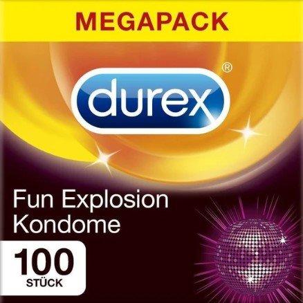 Durex: 15€ Gutschein bei 25€ MBW - z.B. Durex Fun Explosion mit 100 Kondomen für 19,99€ inkl. Versand