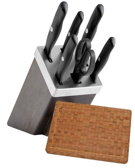 Zwilling Messerblock Sharpblock 7-teilig + Schneidebrett (33x25cm) für 159€ (statt 180€)