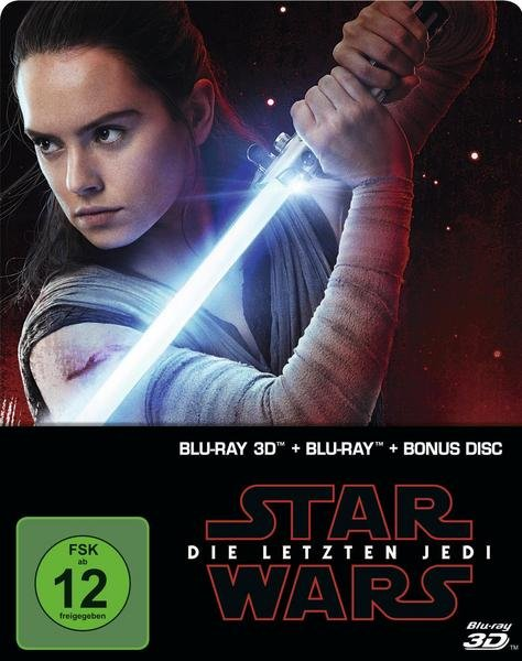 Star Wars: Episode VIII - Die letzten Jedi - Steelbook (+ Blu-ray 2D/3D + Bonus) Limited Edition je 11,49€ - Thalia Club