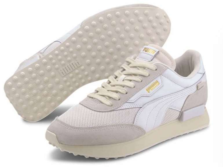 "Puma Future Rider Luxe Sneaker in ""Whisper White"" für 61,90€ inkl. Versand (statt 70€)"