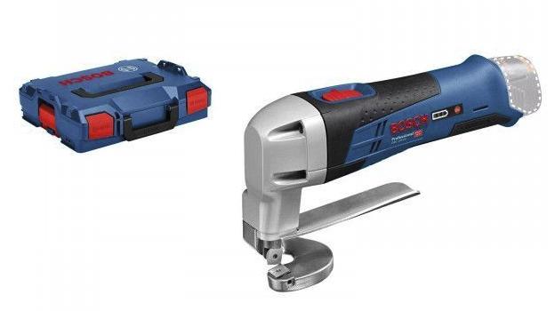 Bosch Akku-Blechschere GSC 12V-13 Solo in L-Boxx für 169€inkl. Versand (statt 208€)