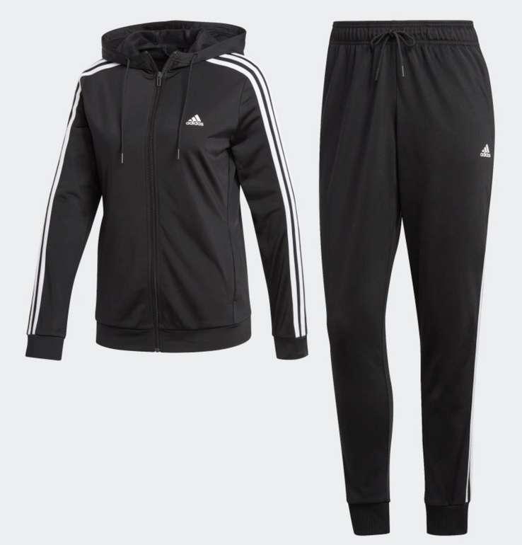 adidas 3-Streifen Trainingsanzug Damen für 44,60€ inkl. Versand (statt 74€)