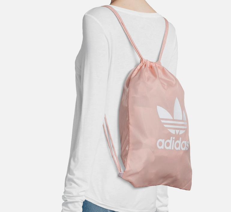 """Adidas Originals Turnbeutel """"Gymsack Trefopil"""" in rosa für 8,91€ (statt 13€)"""