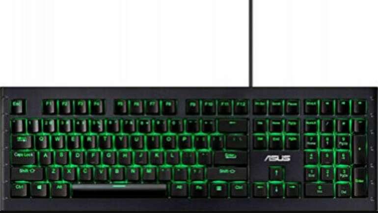 Asus GK1100 Gaming Tastatur Keyboard mit RGB Beleuchtung für 34,80€inkl. Versand (statt 56€)