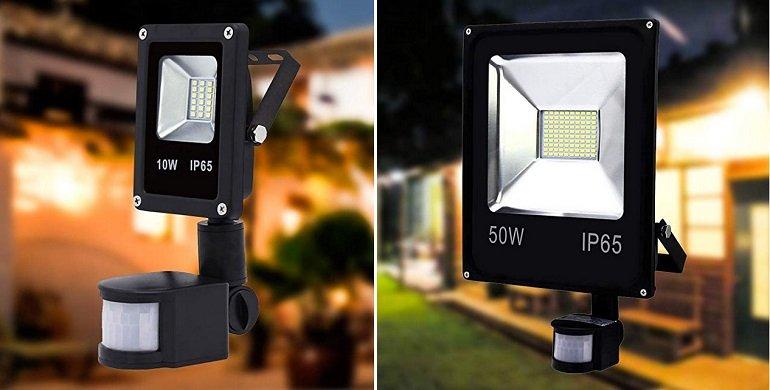 Vingo LED Strahler mit Bewegungsmelder