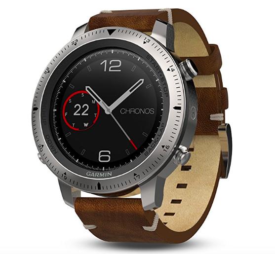 Garmin fēnix Chronos Leder Smartwatch (40-27-5220) für 699€ (statt 799€)