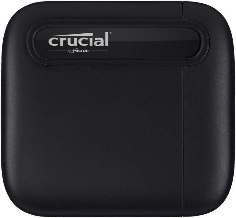 Crucial X6 Portable SSD mit 1 TB (USB 3.1 Gen 2 Typ-C, 10 GB/s) für 88€ inkl. Versand (statt 117€)