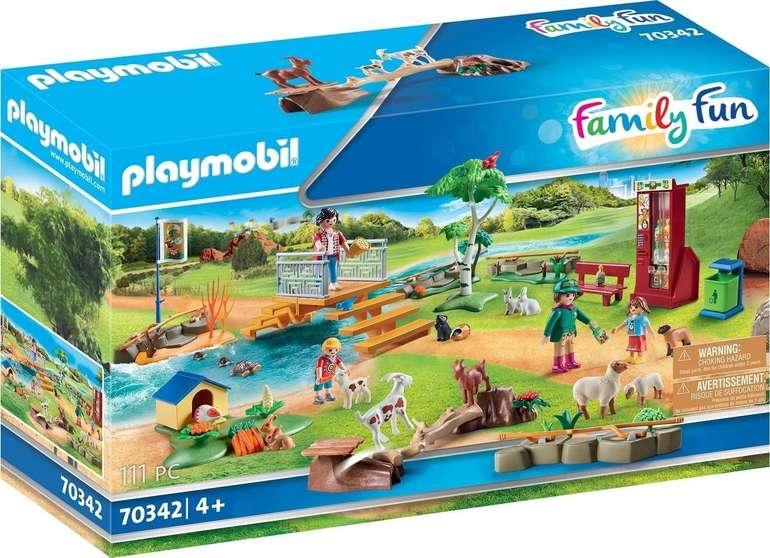 Playmobil Family Fun Erlebnis-Streichelzoo (70342) für 18€ inkl. Prime Versand (statt 23€)