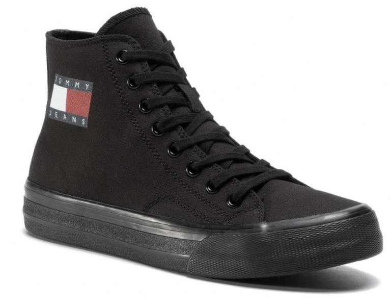 eSchuhe Singles Day Sale mit bis zu 50% Extra Rabatt - z.B. Tommy Jeans Vulc Up Sneaker für 56,05€ (statt 85€)