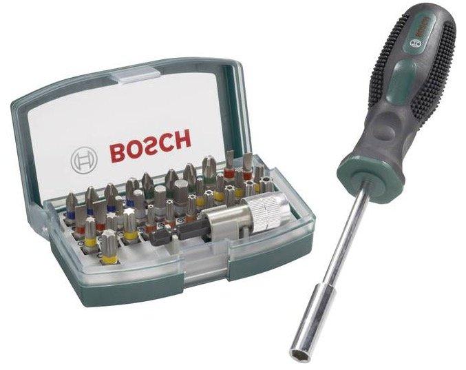 32-tlg. Bosch Promoline Schrauberbit-Set + Bithalter für 11€ (statt 15€)