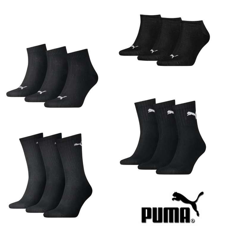 Puma 9er Pack Damen & Herren Socken für 18,90€ inkl. Versand (statt 22€)