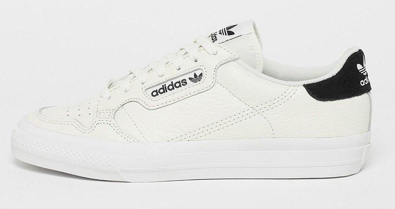 adidas Continental Vulc Sneaker in Weiß für 53,99€ inkl. Versand (statt 65€)